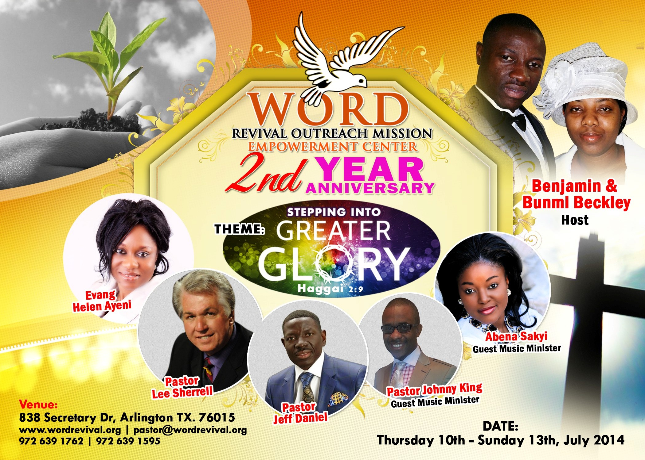 Word Revival Outreach Mission – WORD REVIVAL BECJKLEY OLUSEGUN ANNIVERSARY